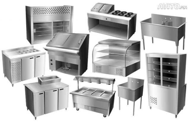 Vente achat des quipements pour snack et restaurant for Equipement pour cuisine professionnelle