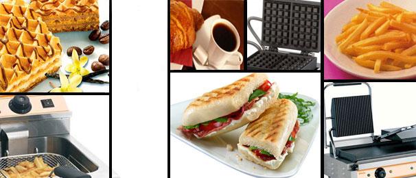 équipements pour Snack et restaurant