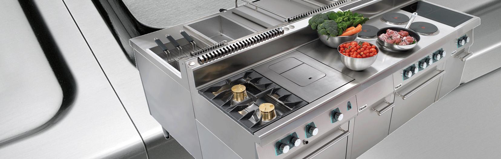 matériel de cuisine professionnelle